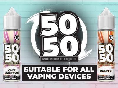 50 50 e liquid vape online